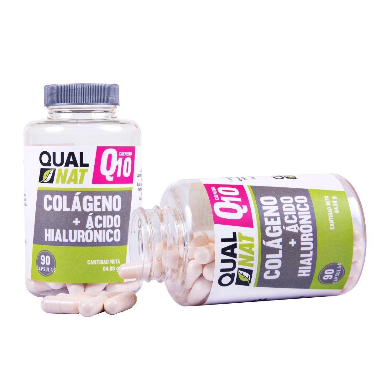 colageno con q10 y acido hialuronico de qualnat mejor colageno